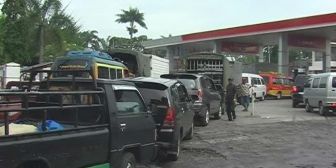 Solar Langka Di SPBU Sumatera Utara