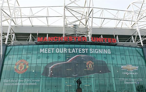 Sponsor Termahal Manchester United Chevrolet 2013