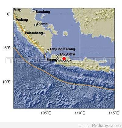 Gempa Bandung 29 Mei 2013