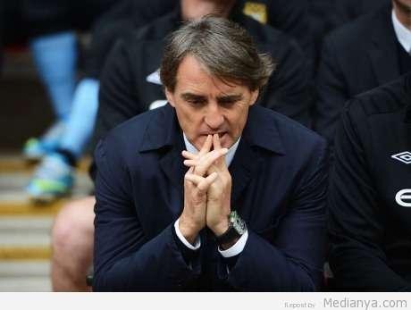 Mancini Pelatih City DIpecat 2013