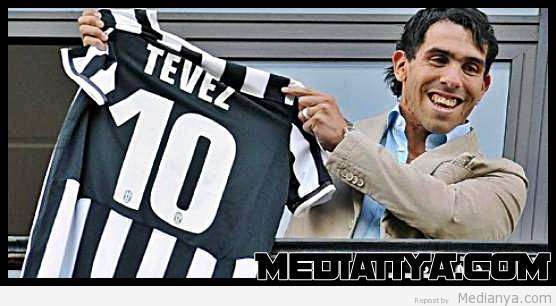 Carlos Teves Resmi Ke Juventus, Nilai Transfer 9 Juta Euro
