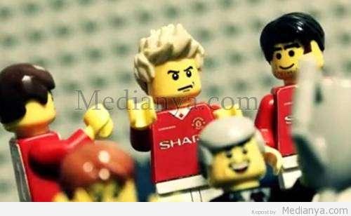 Video David Beckham Lego