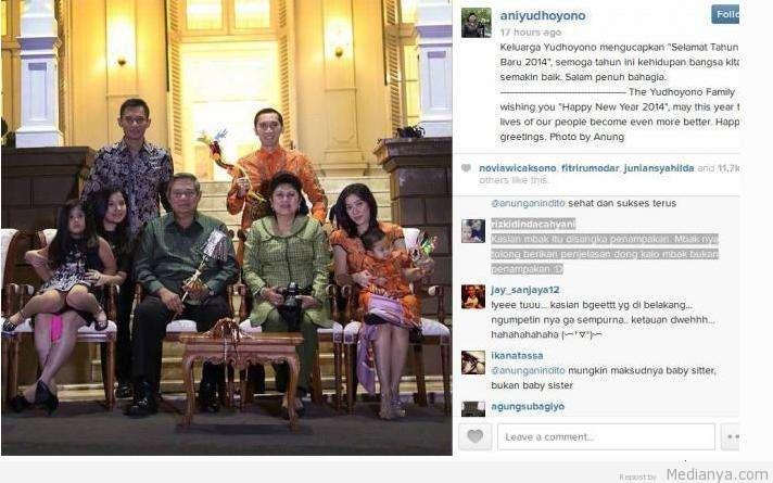 """Terungkap Fakta Siapa Di Foto """"Penampakan"""" Di Instagram Ani Yudhoyono"""