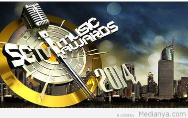 Daftar Nominasi SCTV Music Awards 2014 & Bintang Tamunya