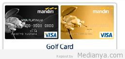 kartu kredit mandiri Golf Card (medianya.com)