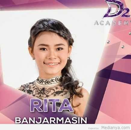 Biodata Profil RITA D'ACADEMY Asal Banjarmasin (2015)