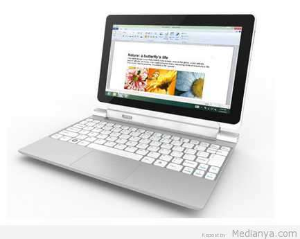 Laptop Tablet Acer One 10, Lengkap dan Praktis