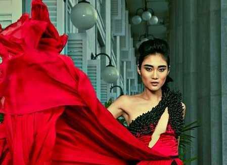 Indonesia Juara Asia's Next Top Model 2015 (Ayu Gani)