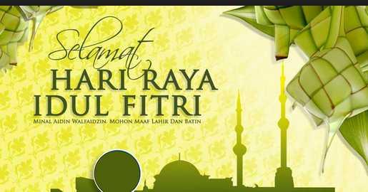 Kumpulan Ucapan Selamat Idul Fitri 2015 (SMS,BBM, Status Lebaran)