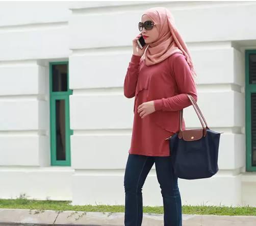 6 Jenis Kain Yang Nyaman Untuk Model Baju Hijab Trendy